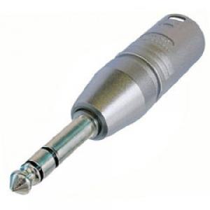 Üleminek 3XLR pistik - 6.3mm (stereo) pistik