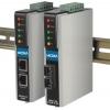 2 port RS-232/422/485 server, 2 x 10/100BaseT(X) (üks IP), 2 x DC toide, -40 kuni 75°C