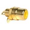 RCA pesa paneelile, kollane, metall, kullatud