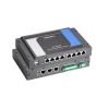 Arvuti: Intel XScale IXP435 533 MHz, 8 x serial porti, 4 DI, 4 DO, 3 x LAN, CompactFlash, USB, Linux