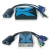 KVMi pikendaja läbi CATx kuni 100m (VGA, PS/2) (saatja + vastuvõtja)