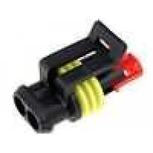 Superseal IP67 2 way receptacle housing
