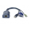Computer Access Module RJ45 Socket - USB, VGA & Audio (out)