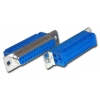 D50F lintkaablile, metallkorpus, 4-40UNC thread.inserts**