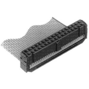 Lintkaablipistik 16ne, pesa, must  (FCI 71600-016)