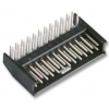 AMPMODU II 2,54mm 2x12 pistik PCB 90°