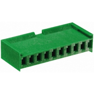 AMPMODU I 3,96mm 1x10 emane kest kaablile, roheline