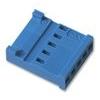 HE14 5way 1row crimp socket shell 281838-5