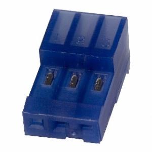 MTA100 pesa kaablile 3-ne 2,54mm sinine 26AWG