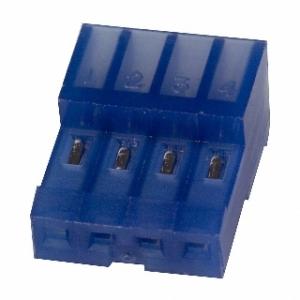 MTA100 pesa kaablile 4-ne 2,54mm sinine 26AWG