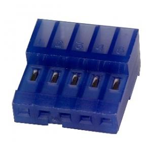 MTA100 pesa kaablile 5-ne 2,54mm sinine 26AWG