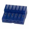 MTA100 pesa kaablile 6-ne 2,54mm sinine 26AWG