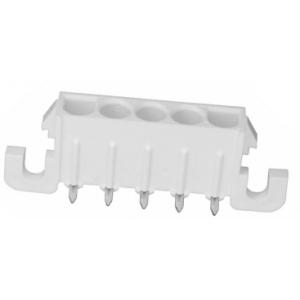 Mate-N-lok Universal 5-ne pesa PCB 90° joodetav, 6,35mm