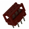 Micro-Match 6-ne lihtkaablipistik PCB otse
