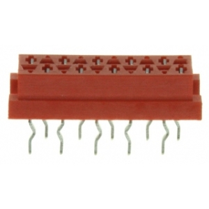 Micro-Match 10-ne lintkaablipesa PCB otse