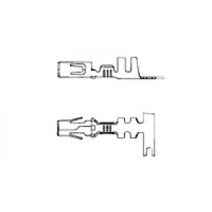 Mate-N-Lok .140 emane kontakt 2,0-6,0mm² 14-10awg phbr