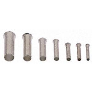 Juhtmehülss 1,0mm², isoleerimata L=6mm ø1,4mm 500tk/pakk