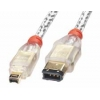 FireWire IEEE 1394 kaabel 6 pin/ 4 pin 1.0m