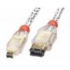FireWire IEEE 1394 kaabel 6 pin / 4 pin 10.0m