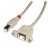 USB 2.0 kaabel B(M) - B(F) 2.0m