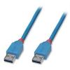 USB 3.0 kaabel A - A 2.0m, helesinine