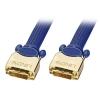 DVI-D Dual Link kaabel 15.0m, kullatud