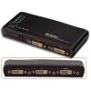 DVI ja Audio HDTV Switch, 4 porti, kaugjuhtimispuldiga