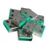 USB pordi lukk, roheline, 10tk ilma võtmeta