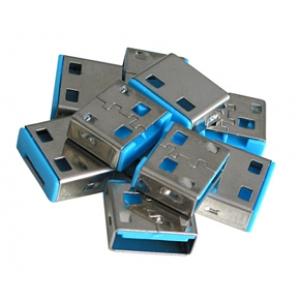 USB pordi lukk, sinine, 10tk ilma võtmeta