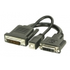 Üleminek DVI + USB - P&D (M1-DA, EVC) 0.2m (projektorile)