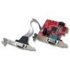 RS-232 PCIe Low Profile, 2 porti, 16C650, 128 Byte FIFO