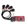 RS-232 PCI kaart, 16C950, 128 Byte FIFO, 4 porti
