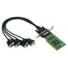 RS-232 PCI kaart, Low Profile, 4 porti + DB9M kaabel