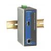 Tööstuslik konverter: 10/100/1000BaseT(X) to 1000BaseSX/LX/LHX/ZX, -40 kuni 75°C