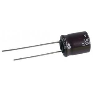 Elektrolüüt kondensaator 100uF 63V 105°C 10x12.5mm