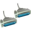 Serial kaabel DB25M - DB25M 1.8m