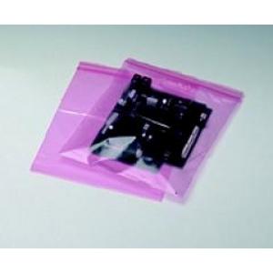 Antistaatiline kilekott 305 x 406 minigrip 100tk./pk roosa