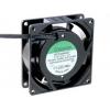 SUNON SF23080AT2082HBL.GN Ventilaator 230VAC 80x80x25mm, 30.6(±5%)m3/h, 30dBA