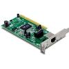 Võrgukaart: PCI Low Profile, 10/100/1000Mbps, Wake-on-LAN