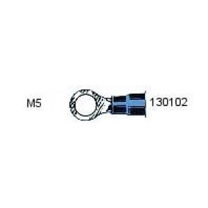 Rõngas M5 1,5...2,5mm² juhtmele, sinine