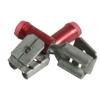 6,35x0,81mm pistik/pesa 0,3...1,5mm² juhtmele, punane