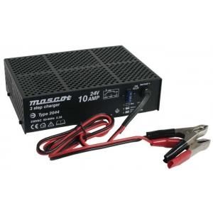 Akulaadija pliiakudele 190-264VAC 24V 10A 3-step.