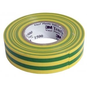 Isoleerpael kollane/roheline 19mm x 20m x 0,15mm Temflex