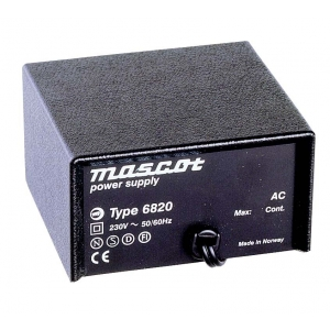 Toiteplokk desktop 24VAC 1A 25VA sisend 230VAC