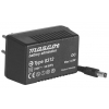 Toiteplokk plug-in 9VDC 80mA 0,8W stab. 230VAC