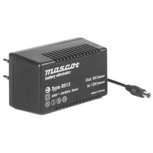 Toiteplokk plug-in 5...12VDC 2,4W sisend 230VAC