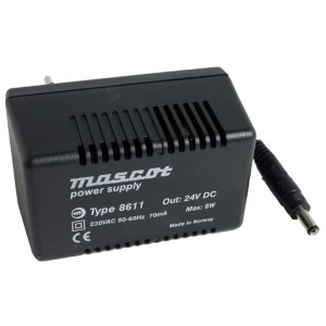 Toiteplokk plug-in 24VDC 0,3A 8W sisend 230VAC