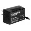 Toiteplokk plug-in 12VAC 1,6A 20VA sisend 230VAC