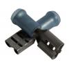 6,35x0,81mm pesa 1,0...2,5mm² juhtmele, sinine