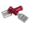 6,35x0,81mm pesa 0,3...1,5mm² juhtmele, punane
